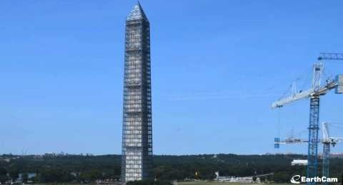 Restaurování Washingtonova monumentu